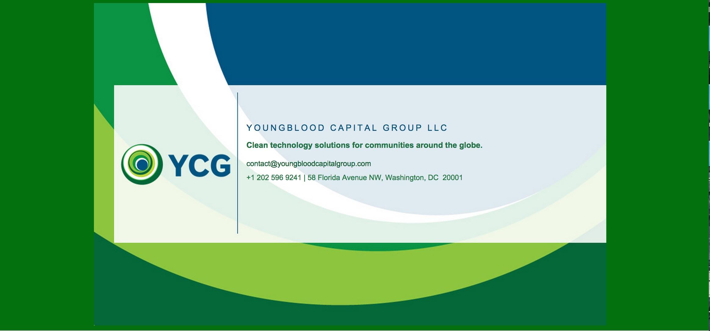 YCG Website Splash Page